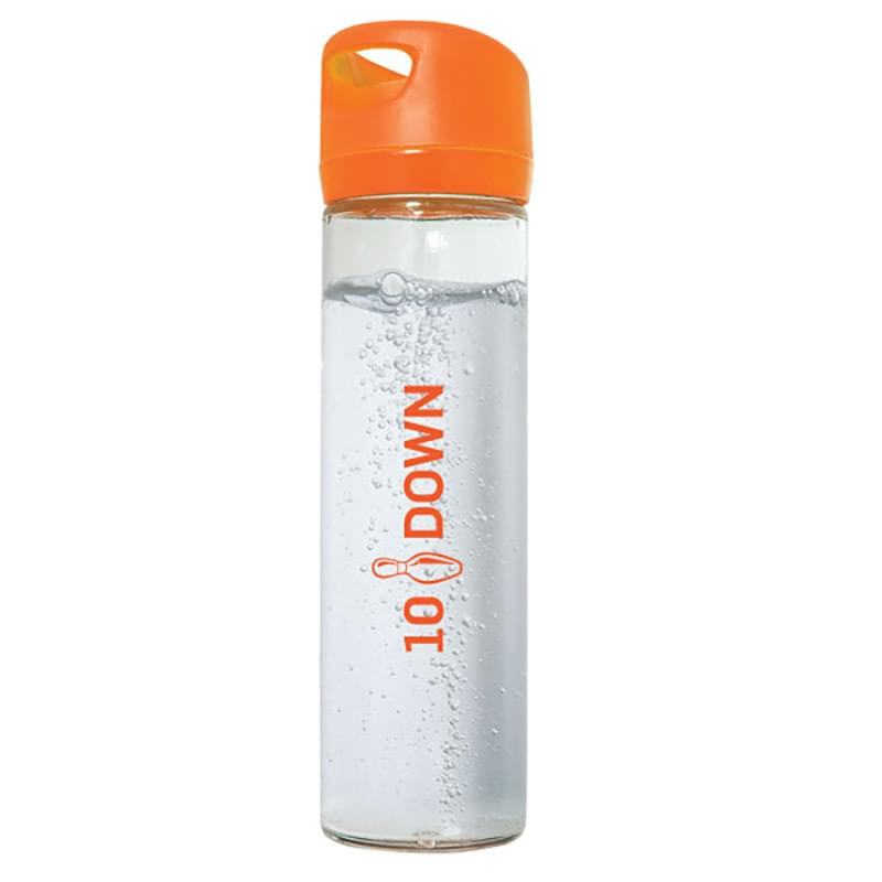 500 ML. (17 OZ.) SINGLE WALL GLASS WIDE MOUTH WATER BOTTLE