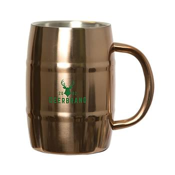 BREWMASTER 500 ML. (17 OZ.) BARREL MUG