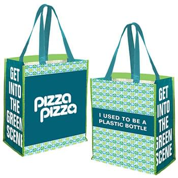 PET PREPRINTED JUMBO GROCERY TOTE