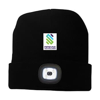 TWILIGHT TOQUE WITH LED LIGHT
